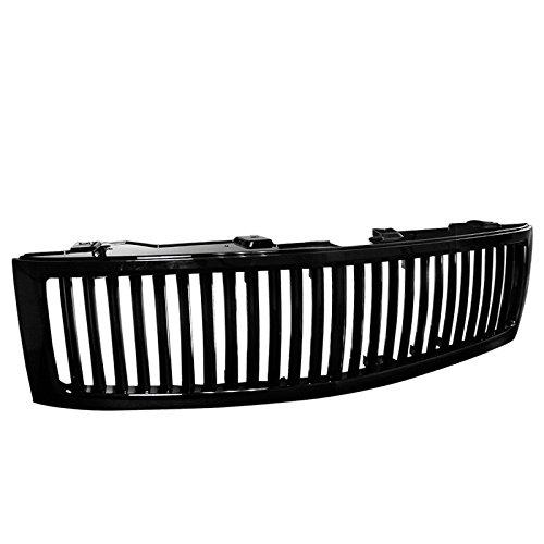 08 chevy silverado black grille - 4