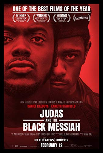 Official - Judas and The Black Messiah (Daniel Kaluuya, Lakeith Stanfield) 2021 Movie Poster - Canvas (16'x24')