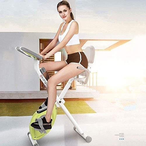 MLL Bicicleta estática Ciclismo en Interiores Quiet Stepper Fitness Cardio Ejercicio Traine para Family Office Gym Indoor Sports