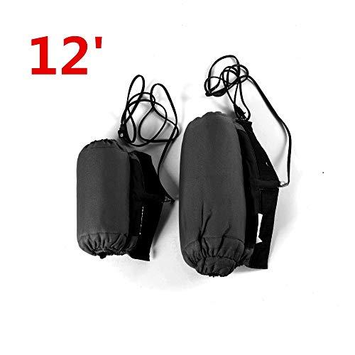 Felicey perfectamente aplicable 10 '/ 12' scooter neumático calentador de motocicleta calentador de neumático frontal y trasero 1 par manta eléctrica Diseño elegante (Color : 12 inch No digital)