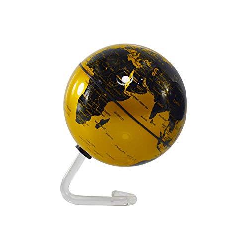 SCKL 4-inch magneet roterende wereldbol, Levitating kogel-aarde, batterij-aangedreven wereldkaart voor thuiskantoor