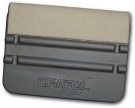 ORAFOL Kunststof schraper met vilt (gescheiden) 10 x 7 cm