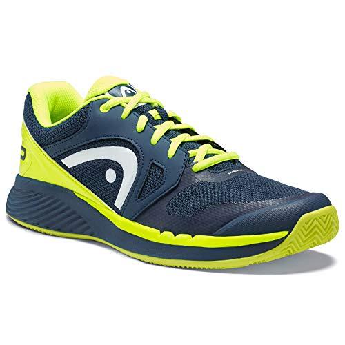 Head Sprint Evo Clay Men 44 Dark Blue/neon Yellow 273209