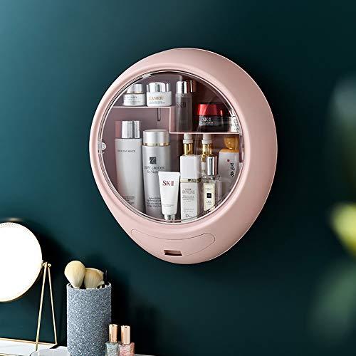 LYzpf Make-up Organisator Wandmontage Display Stand Box Neatness Cosmetische Organisatoren Opslag Plank Tassen voor Dressoir Slaapkamer Badkamer