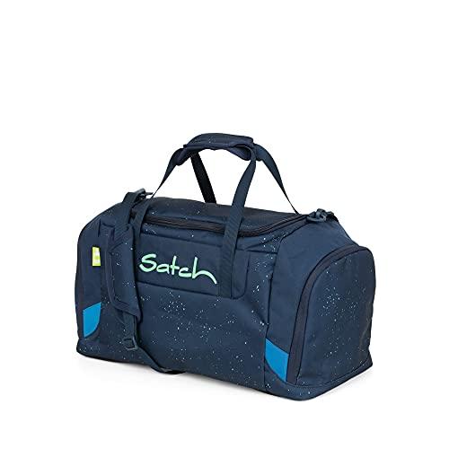 Satch DUFFLE Borsa sportiva per bambini, 50 cm, 25 liters, Multicolore (Blue Green Speckled)