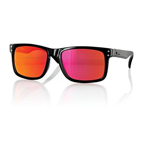 Carve Herren Retro Sonnenbrille Gr. One Size, Black Revo