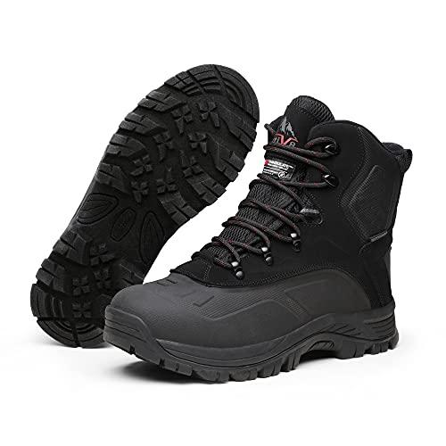 NORTIV 8 Men's Waterproof Winter Boots