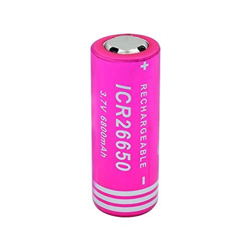 RitzyRose 3.7v 4900mah TR 18650 Li-Ion Baterías de litio, batería recargable para modelo aéreo cámara portátil mini ventilador 8 piezas