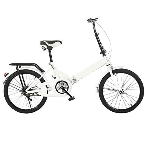 FingerAnge Bicicleta Ligera Plegable De 20 Pulgadas, Pequeña Bicicleta PortáTil para Estudiantes Adultos Aleación De Aluminio Bicicleta EléCtrica 10ah Bicicleta De Litio