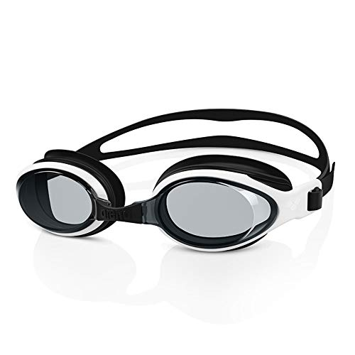Houozon Zwembril, waterdichte anti-mist zwemmen oordopjes neus clip bril, high-definition zwembril set, gegalvaniseerd zwart plat licht.