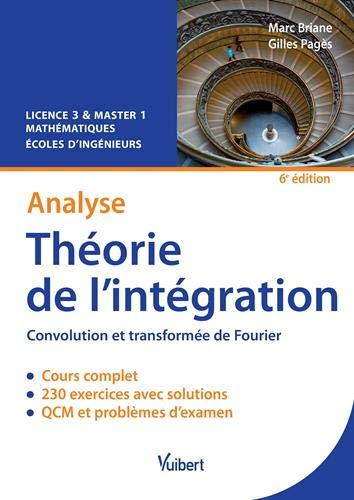 Théorie de l'intégration 6e edt