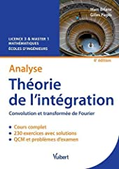 Théorie de l'intégration 6e edt de GILLES PAGES