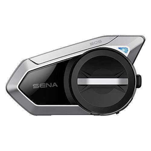 Sena Sistema de comunicación Bluetooth para Casco de Moto con Mesh 2.0 Intercom