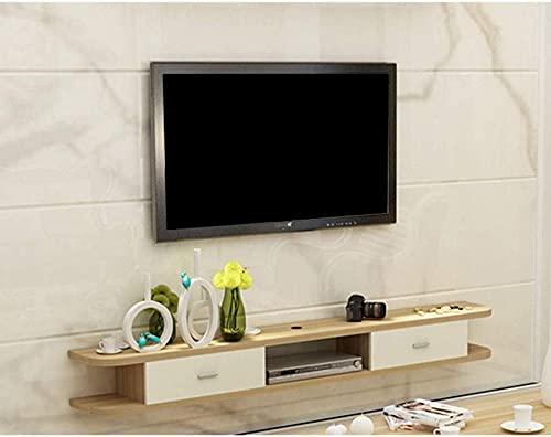 Muebles para el hogar Mueble de TV de pared Soporte de TV flotante moderno Muebles de consola de TV Soportes para TV Soporte para tablero de TV Consola multimedia Centro de entretenimiento para rep