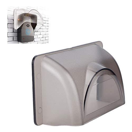 Cubierta de lluvia de control de acceso, cubierta de lluvia de plástico resistente al fuego estable, protección para dispositivos de huellas dactilares timbres