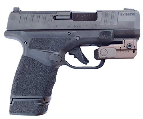 Ade Advanced Optics FDE Full Metal Body HR54-2 Mini RED Laser Sight for Glock,Ruger Security 9,HK P2000,Springfield XD,Taurus G2c,Canik tp9sf,Sig Sauer