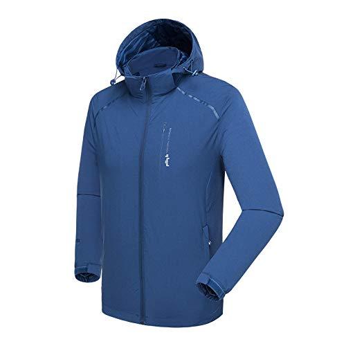 Gangkun Dunne jas met één laag voor heren, intranet met één laag, sneldrogend sportjack
