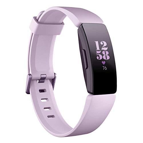 Fitbit Inspire HR スマートウォッチ 活動量計 フィットネストラッカー 心拍計 (ライラック) [並行輸入品]