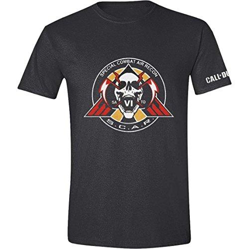 Call of Duty: Infinite Warfare - S.C.A.R. Logo Homme T-Shirt - Gris - Taille Medium