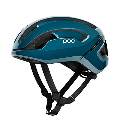 POC Omne Air Spin Bike Helmet for Commuters and Road Cycling, Lightweight, Breathable and Adjustable, Antimony Blue, Medium
