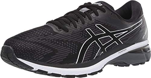ASICS Men's GT-2000 8 Shoes, 6M, Black/White