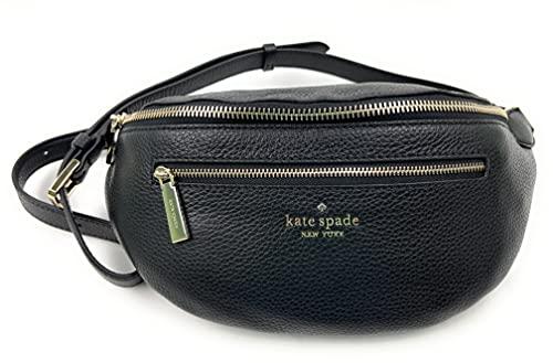 Kate Spade New York Leila Pebble Leather Belt Bag (Black)