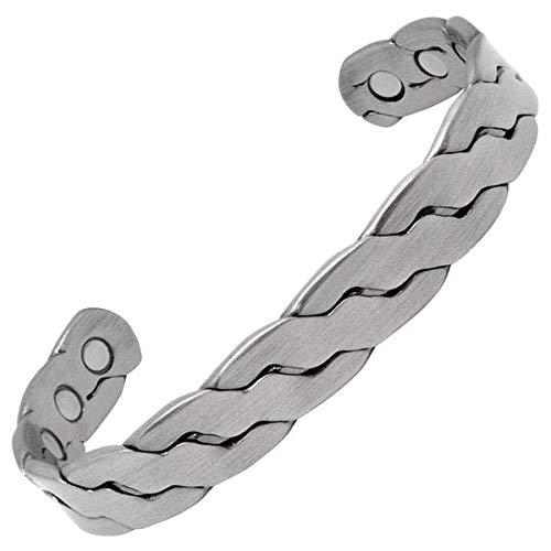 MagnetRX Pure Copper Magnetic Bracelet - Arthritis Pain Relief &...