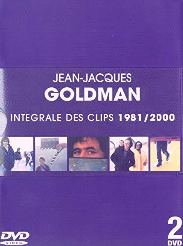 Jean-Jacques Goldman : L\'Intégrale des clips 1981-2000 - Coffret 2 DVD