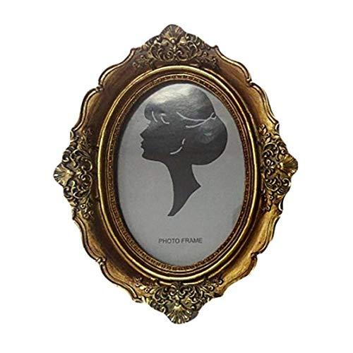 KHHGTYFYTFTY Estilo Europeo De La Vendimia Marco de Lujo Marco de Fotos Antiguas de la decoración del hogar 21 * 16.5cm 1PC