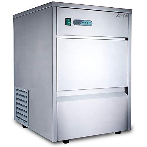 ZORRO - Eiswürfelbereiter ZEB 25 ECO - Gastro 25kg/24h- Eiswürfelmaschine mit Edelstahlgehäuse