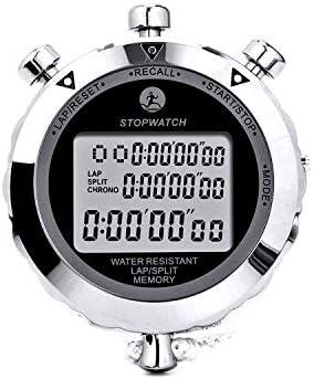 Rolilink Stopwatch Metal Stop Watch 10 Lap Memory Stopwatch Timer Countdown Timer Stopwatch product image
