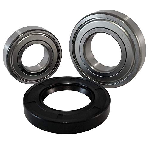 """Front Load Bearings Washer Tub Bearing and Seal Kit with Nachi bearings, Fits Maytag Tub W10290562 (Includes a 5 year replacement warranty and link to our""""How To"""" videos)."""