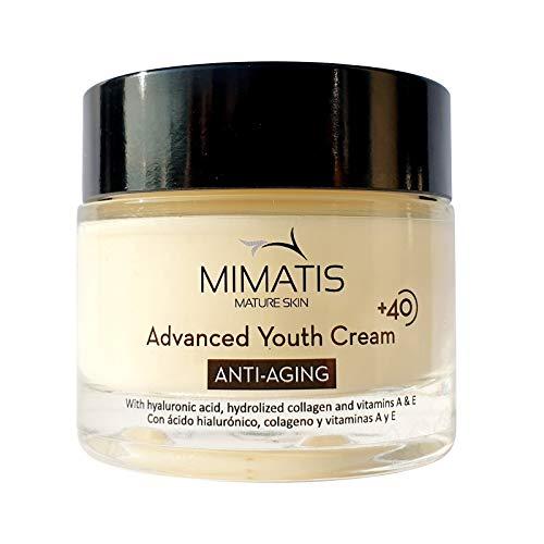 Crema Hidratante Facial Mujer Piel Madura +40-Antiarrugas y Reafirmante- Antiflacidez e...