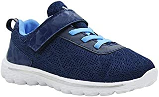 KazarMax Kid's Navy-Blue Sports Shoes for Boys/Girls (Made in India) 2.5 Years To 9 Years
