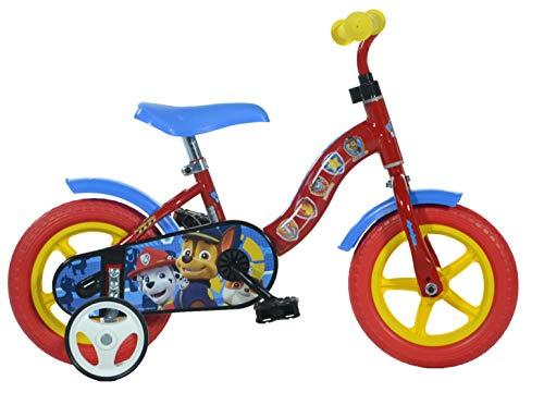 Dino Bikes 108L-PW Kinderfahrrad Fahrrad, Rot, 10 Zoll