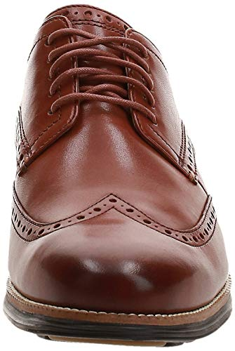 Cole Haan Men's Original Grand Shortwing Oxford, Woodbury/Java, 15 Wide US