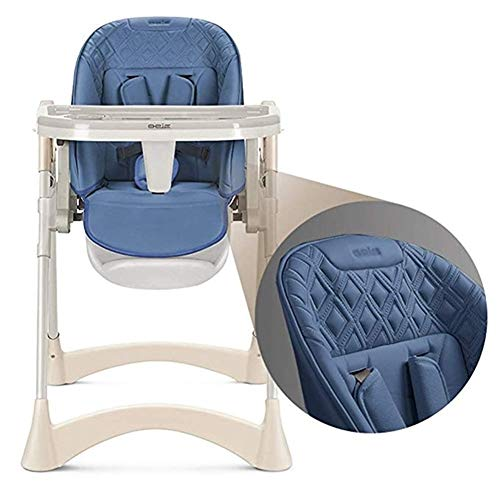 Great Features Of ZHPRZD Baby and Toddler Portable Folding High Chair Dining, Height Adjustable, Sea...
