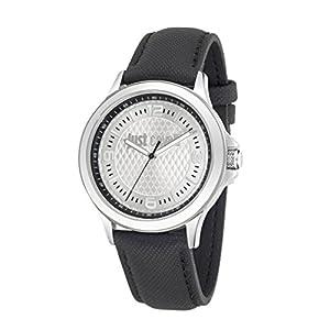 Just Cavalli Just Iron – Reloj (Reloj de Pulsera, Masculino, Plata,