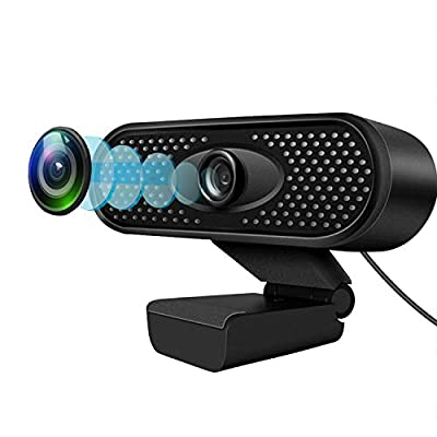 Full 1080P HD USB Webcam with Microphone - Vide...