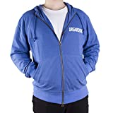 UrGarding EMF shielding full zip hoodie (Blue, M), Double layer of silver fabric for double radiation protection