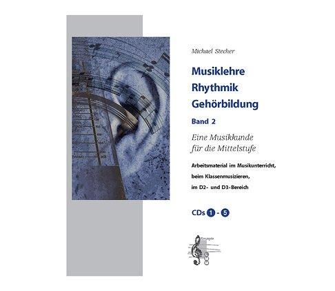 Musiklehre Rhythmik Gehörbildung Band 2 CDs 1-5 - - CD-Box