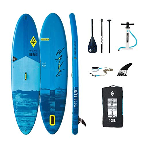 Aztron Aquatone Wave Plus 11.0 Isup Hinchable Tabla de Surf, Stand Up Paddle 335x81x15