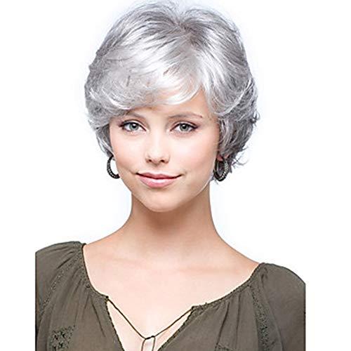 comprar pelucas mujer cortas blanca online