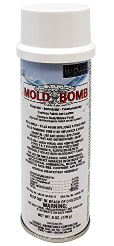Mold Bomb Fogger | Kills Mold, Mildew and Fungi in One Treatment | EPA Registered, Easy and Safe for...