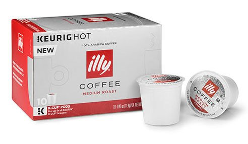Illy K-Cup Pods 2 Boxes of 10 K-cups (Medium Roast)