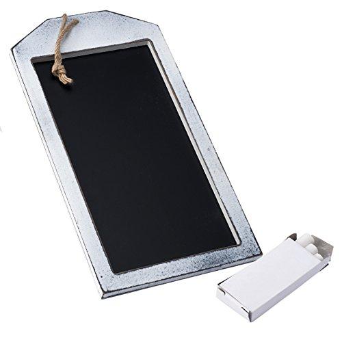 Mopec Tableau rectangulaire avec Ficelle, Bois, Noir, 1.2 x 1.2 x 19 cm