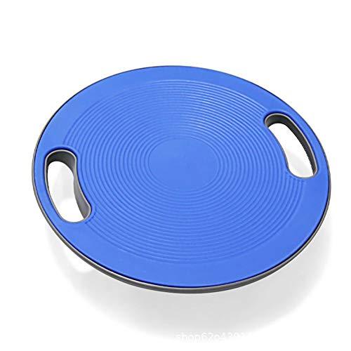 BCCDP Plataforma de Equilibrio con Asas Yoga de Tabla de Equilibrio Disco para Entrenamiento de Fitness de Ø 40CM para Yoga Gimnasio Entrenamiento y Ejercicio Físico