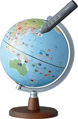 レイメイ藤井 地球儀 しゃべる国旗付 スタンダード 球径20cm OYV46