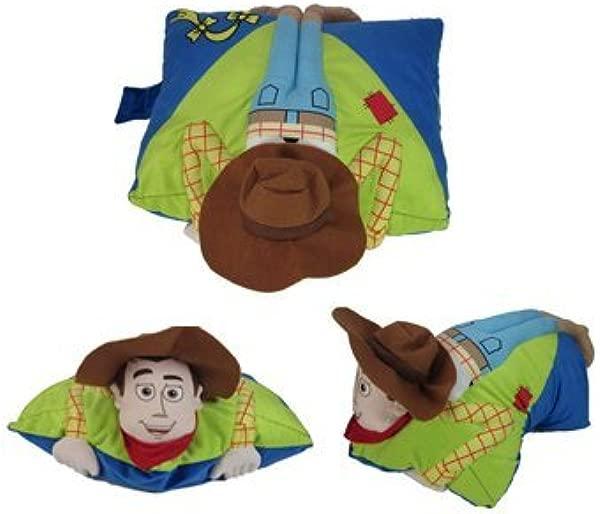 Disney Toy Story Folding Woody Pillowtime Pillow Pal