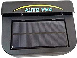 Solar car cooler car solar fan automobile exhaust fan to the smell of clean air TL038
